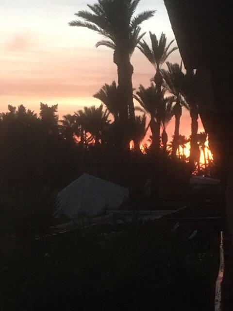 photo 1 lever de soleil à l'hôtel Chems de Marrakech