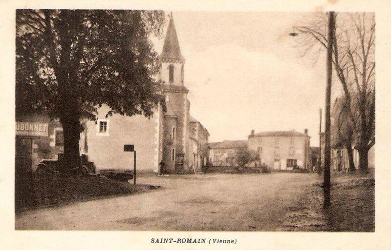 Saint-Romain 86 - a