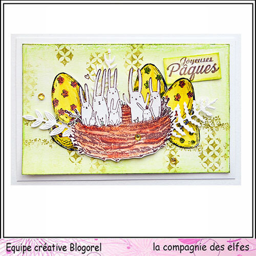 blogorel lapin paques loreeduscrap lcde
