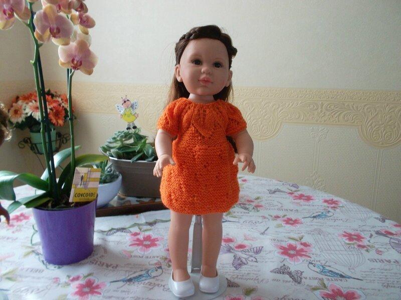 Johanna & sa première tenue ( poupée de fée & moi)