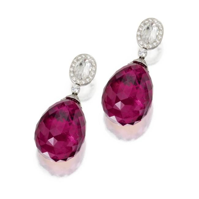 Ruby Rubellite Spinelle Pink Tourmaline Sotheby S
