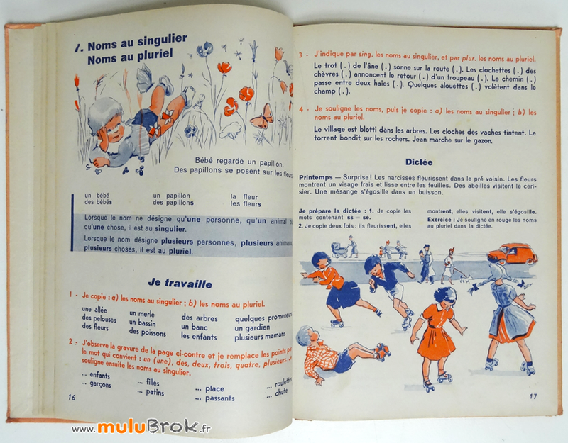 Livre-MA-PREMIERE-GRAMMAIRE-Colin-5-muluBrok-Vintage