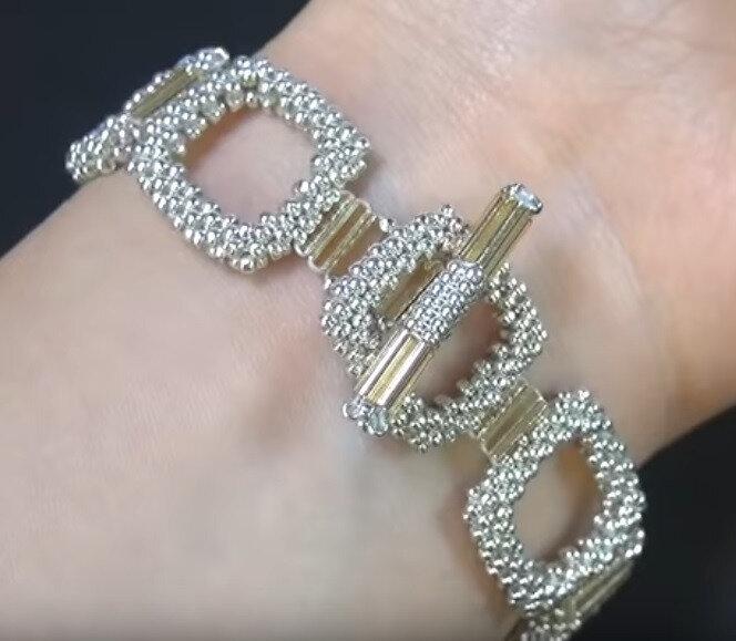 Bracelet carrés