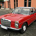 Mercedes benz 200 w115 berline 1973-1976