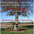 FLY Le retour des arbres Cie les Journaliers 2014