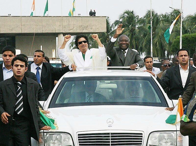 LE PRÉSIDENT LAURENT GBAGBO SUR LES TRACES DES HÉROS AFRICAINS.