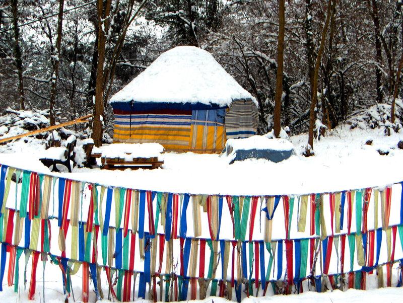 gaiabelle sous la neige