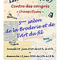 Salon d'issoudun ce week-end !!! salon de noizay le week-end suivant !!!