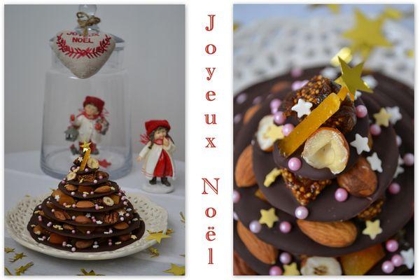 Noël sapin chocolat3