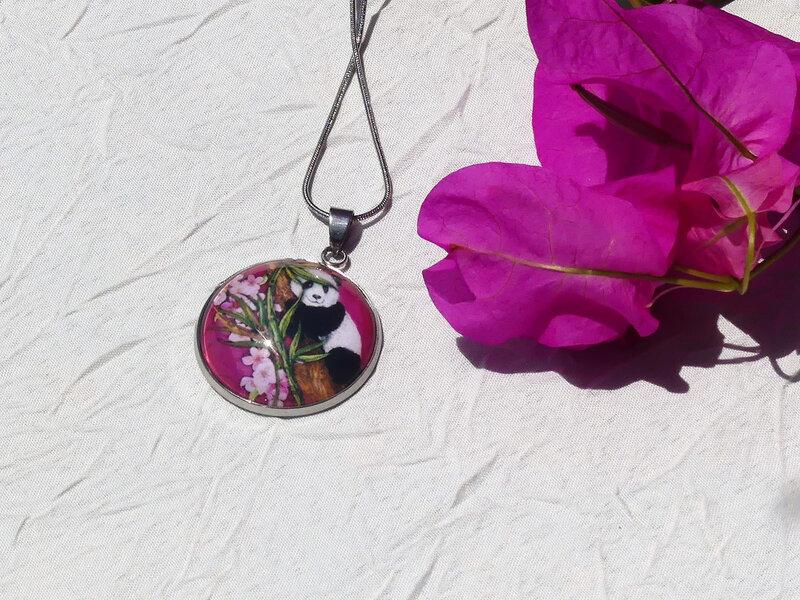 bijoux colores made in guyane par louise indigo pande rose (3)
