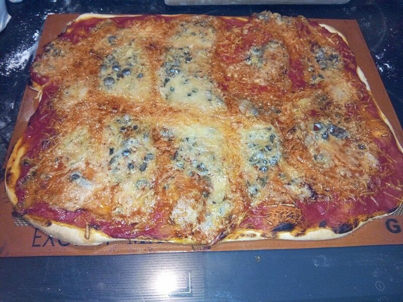 pizza roquefort
