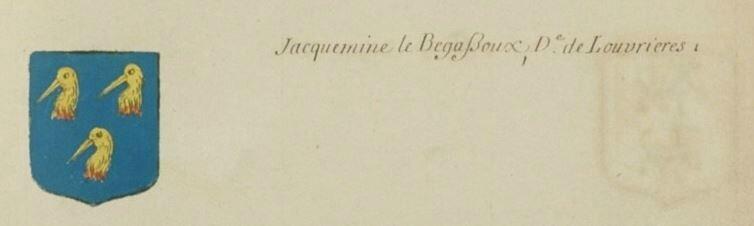 Blason le Begassoux page 981