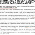 Paris-normandie: suite de la mauvaise histoire belge...