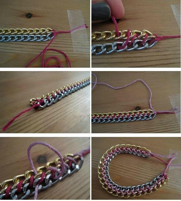 bracelet-diy-chaine