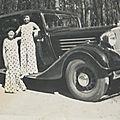 La belle Juva 4 Renault de Pépé Georges : Ginette et Janine