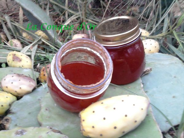 confiture de figues de barbarie au thermomix