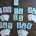 ♥ jeux de cartes des amoureux de peynet ♥