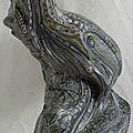Hervé THAREL SCHMIMBLOCK'S minor 2013 - 18cmx9,5cm acrylique sur argile (3)