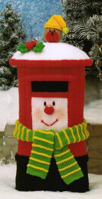 Traduction Clarence the christmas postbox - Celebration Clowns - Jean Greenhowe