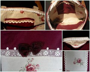 sac aux roses montage