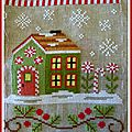 Sal santa's village: étape n°8 candy cane cottage...