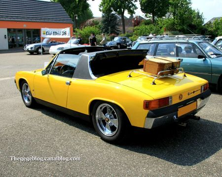 Porsche - Vw 914 coupé de 1970 (Rencontre de véhicules anciens à Achenheim) 02