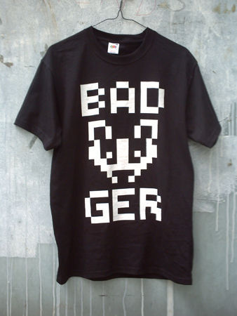T_shirt_badger_video_game