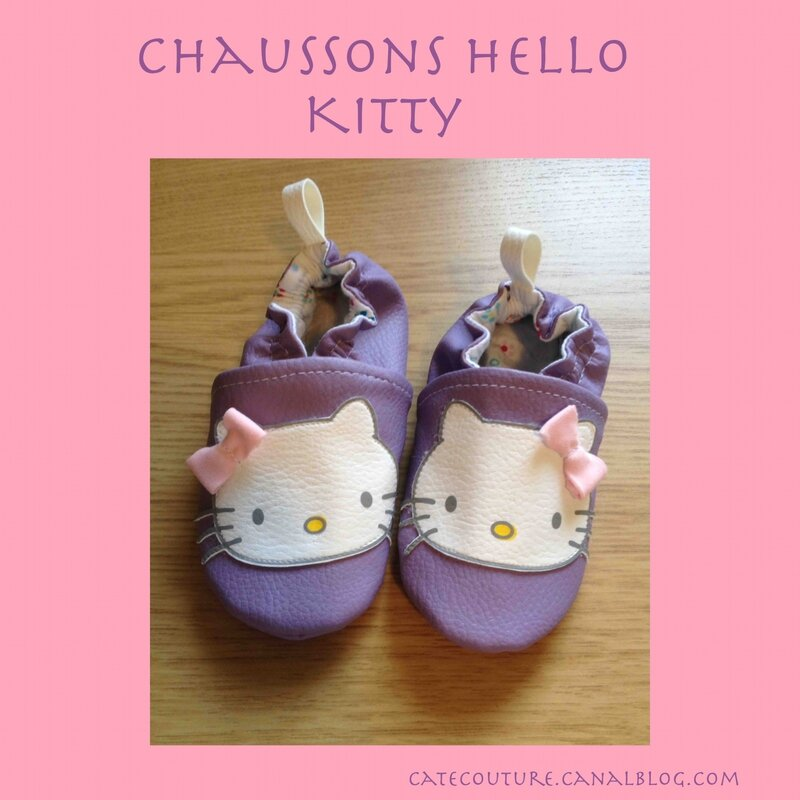Chaussons Hello Kitty 2