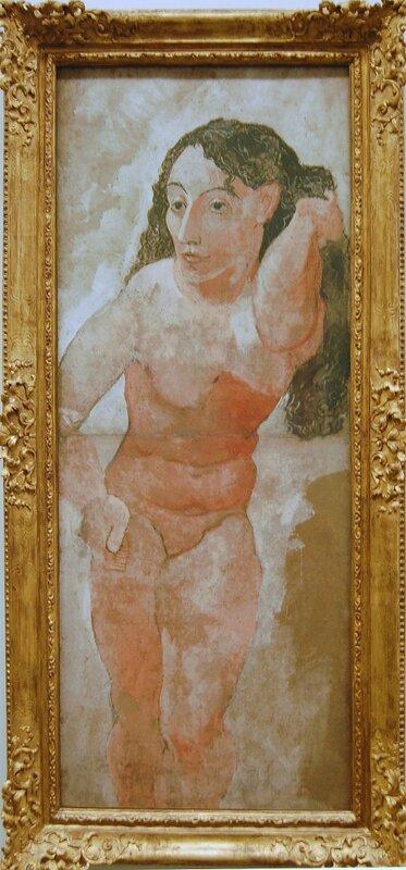 orangerie picasso-femme-au-peigne