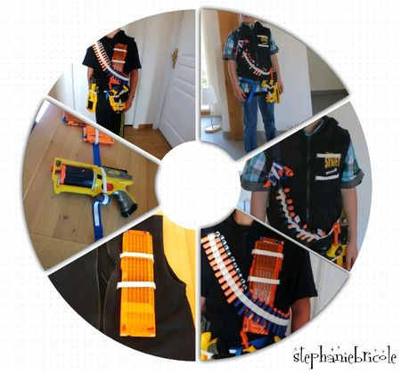 composotion pistolet nerf diy