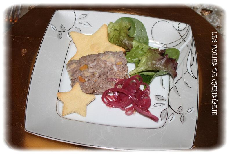 Terrine de chevreuil au foie gras 6