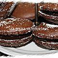 Macarons au chocolat du chocolatier jean-paul hévin