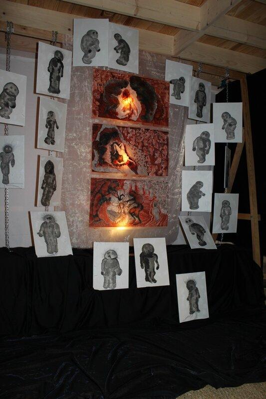 Journées Portes Ouvertes, ''Lapis Dolor'' dans l'atelier de Anne PhilomèneROLLIN