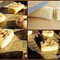Cookies aux gaufres flamande et brisures de caramel