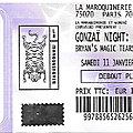 Le villejuif underground / byan's magic tears / hoorsees - samedi 11 janvier 2020 - maroquinerie (paris)