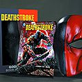 New 52 : deathstroke vol 1 gods of war book and mask set