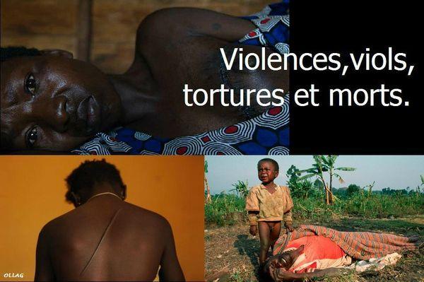 Violences viols tortures morts ok OLLAG