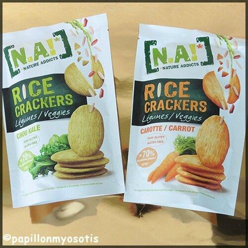 Nature Addicts Rice Crackers Veggie