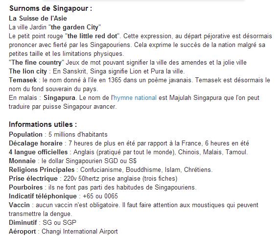 OU SE TROUVE SINGAPOUR - 4