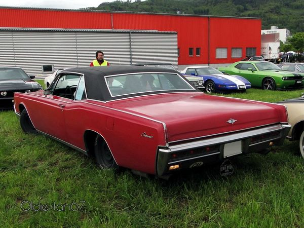 lincoln continental hardtop coupe 1966 b