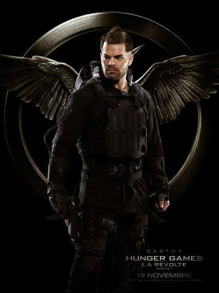 Castor Hunger Games 3 MockingJay