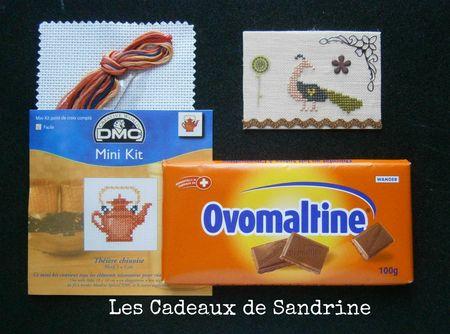 Cadeaux de Sandrine