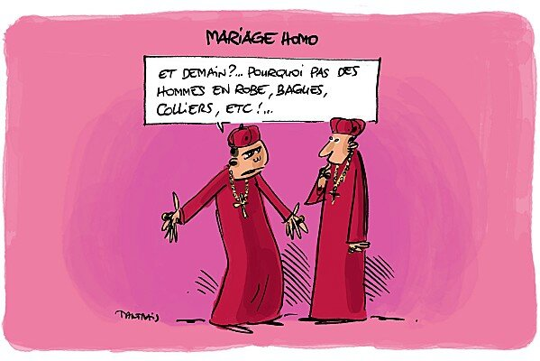 Dictons humoristiques sur le marriage homosexual marriage