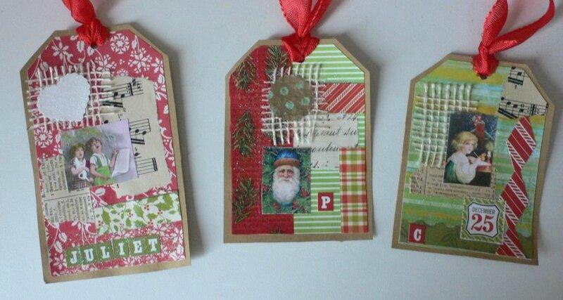 étiquettes Noël 2