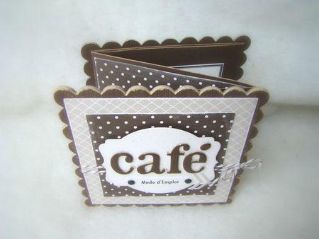 Mini Album Café1