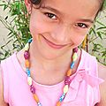 ✄ ☼ collier perles papier / diy rolled paper beads necklace ✄ ☼