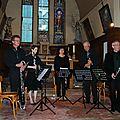 Ensemble de clarinettes de Thiérache à Le Thuel