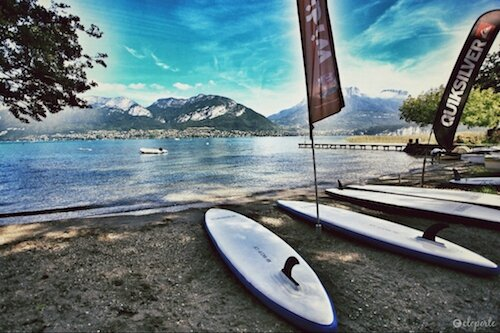 Lac Annecy plage