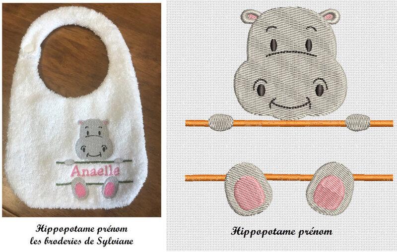 hippopotame prénom