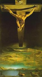 Christ_of_Saint_John_of_the_Cross par Savador Dali - Kelvinrove Art Gallery and Museum, Glasgow